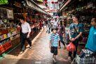 Уличный рынок в Сингапуре