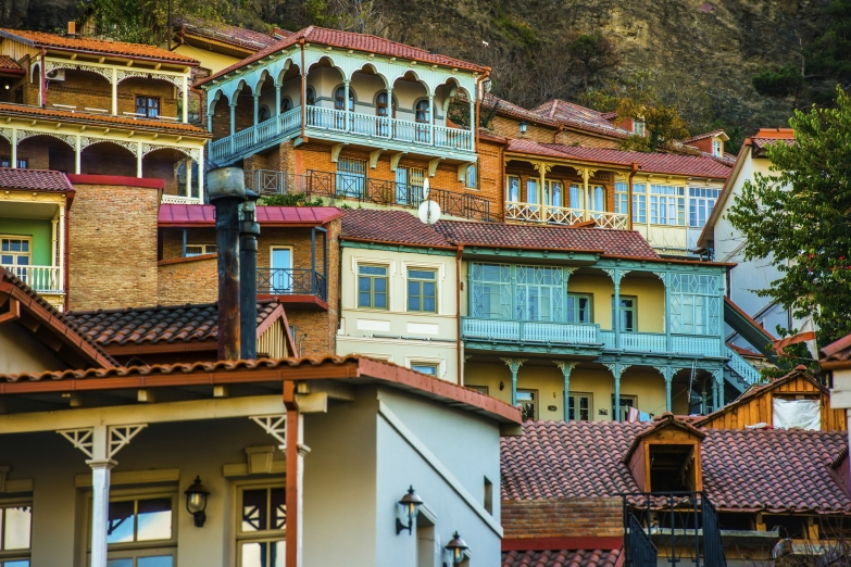 Живописная архитектура Тбилиси