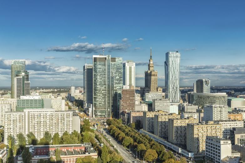 Современная архитектура Варшавы