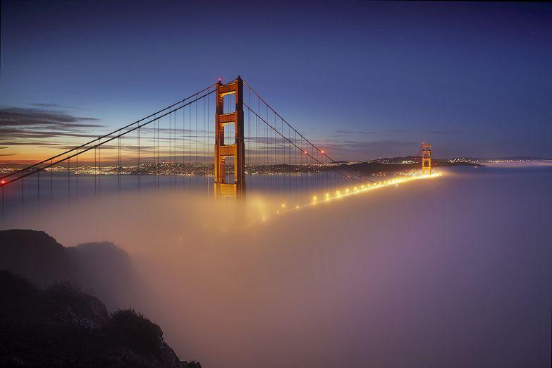 Мост Golden Gate, Сан-Франциско