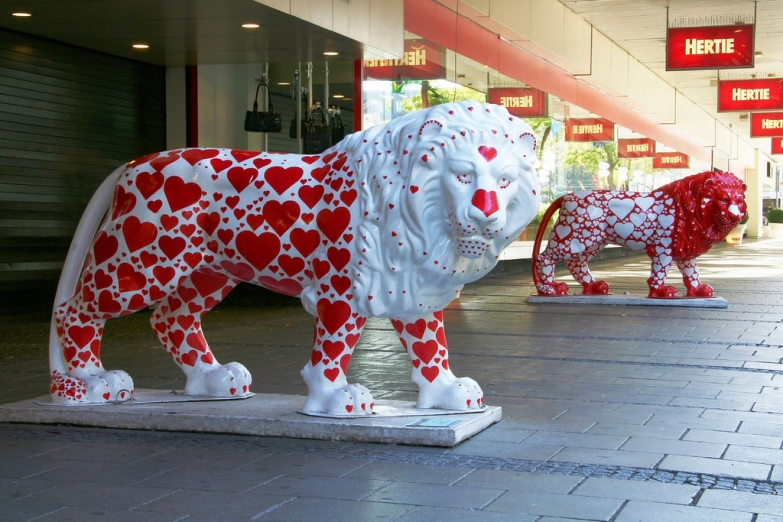 Львиный парад в Мюнхене