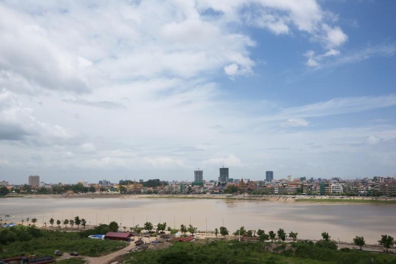 Вид на реку Тонлесап