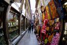 Уличный базар в старинном районе Гранады