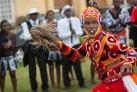 Традиционные танцы на правительственном  празднике