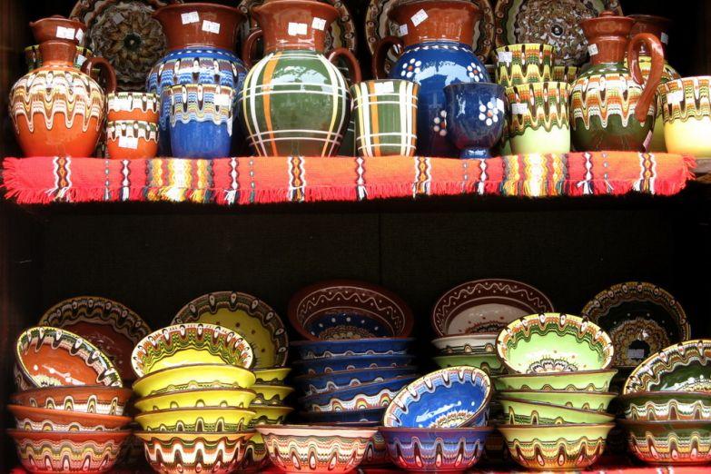 Болгарская посуда