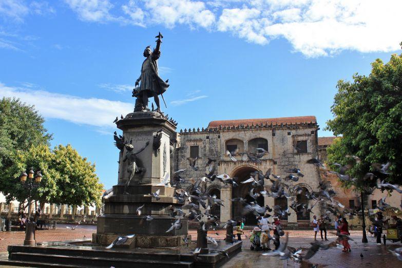 Площадь Колумба в Санто-Доминго