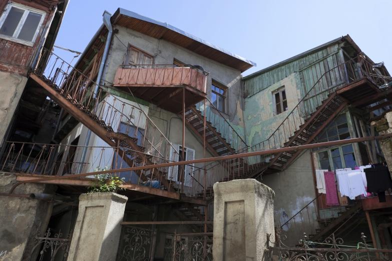 Старые районы Тбилиси