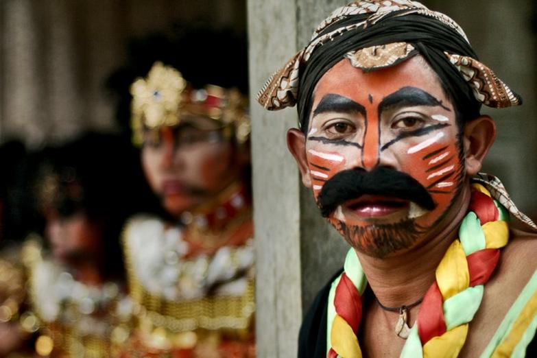 Традиционный праздник в Центральной Яве