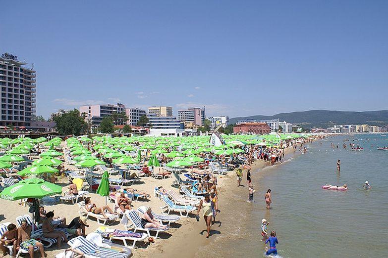 Пляж на Солнечном береге