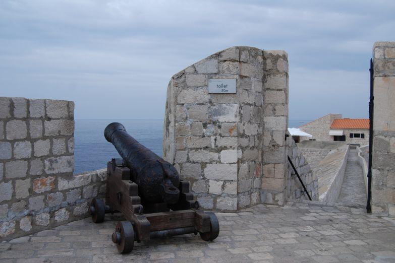 Крепостная стена Дубровника