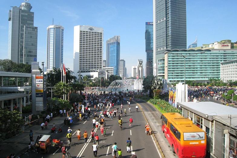 Небоскребы Центральной Джакарты
