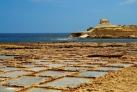 Древние соляные поля в бухте Баййар