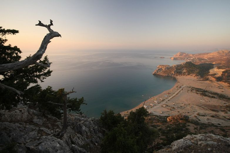 Вид на Родос