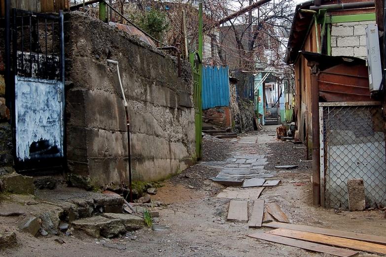 Улочки на окраинах Боржоми