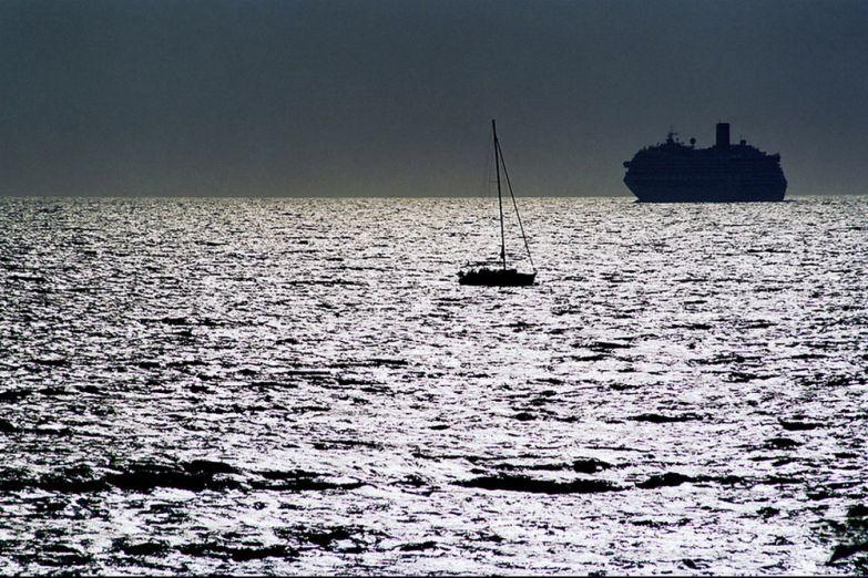 Вид на море с острова Родос
