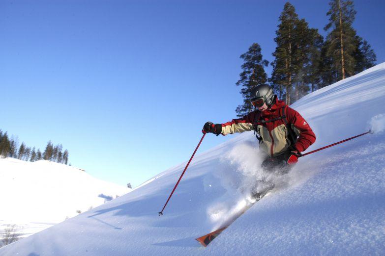Горные лыжи в Лапландии