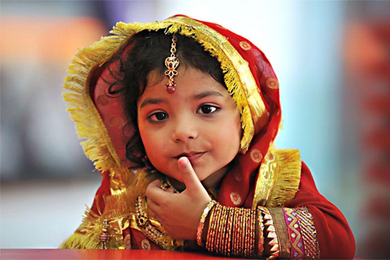 Маленькая жительница Калькутты