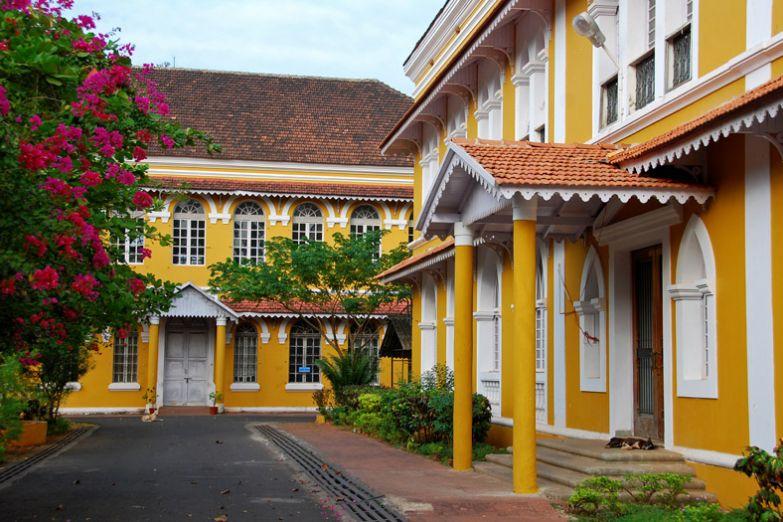 Архитектура столицы Гоа - Панаджи