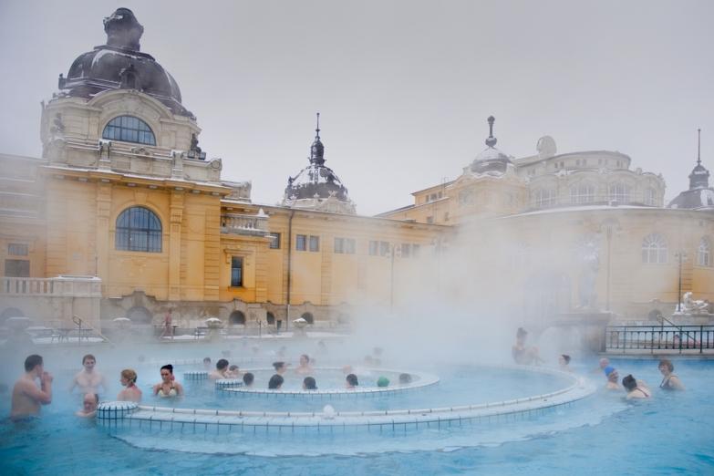 Термальные купальни в Будапеште