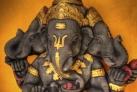 Статуя Ганеши в храме
