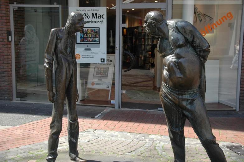 Скульптура Спор
