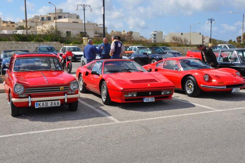 Старые автомобили пользуются особой любовью у мальтийцев
