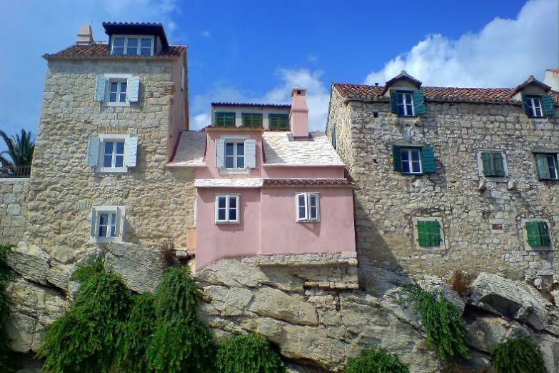Дома в исторической части Сплита