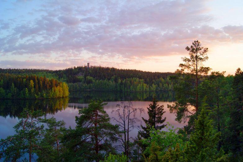Озеро Ауланко в провинции Хямеенлинна