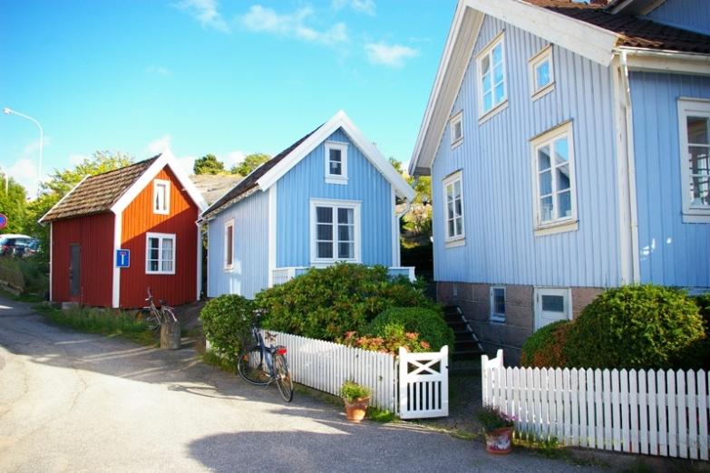 Шведская деревенька
