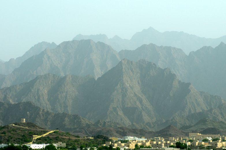 Горы и оазис Хатта