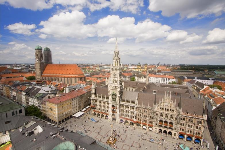 Исторический центр Мюнхена