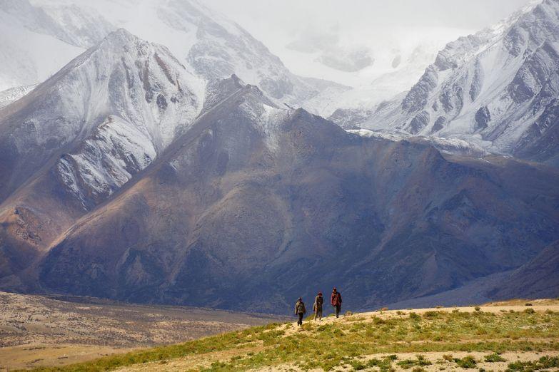 Горы на Тибете
