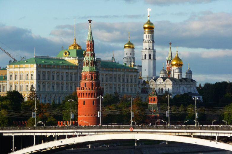 Большой Кремлевский дворец и Кремль