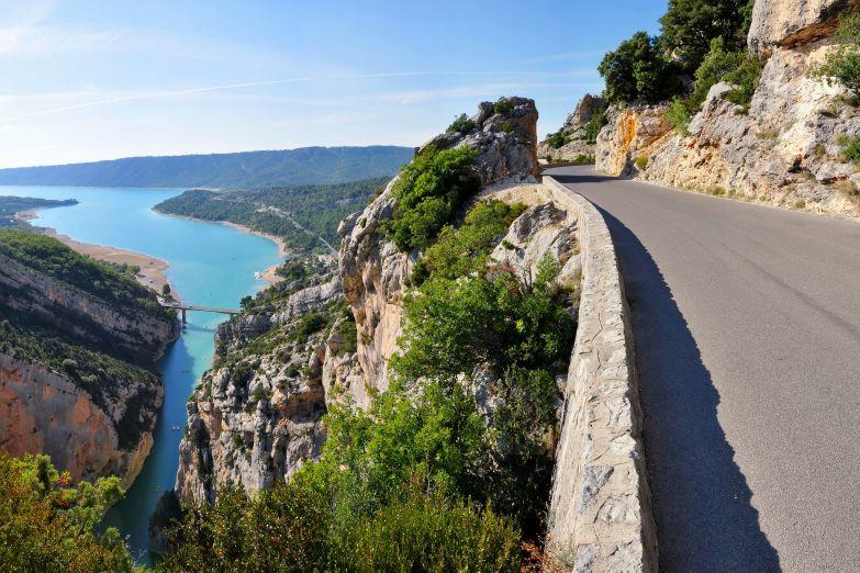 Критская дорога вдоль ущелья Вердон