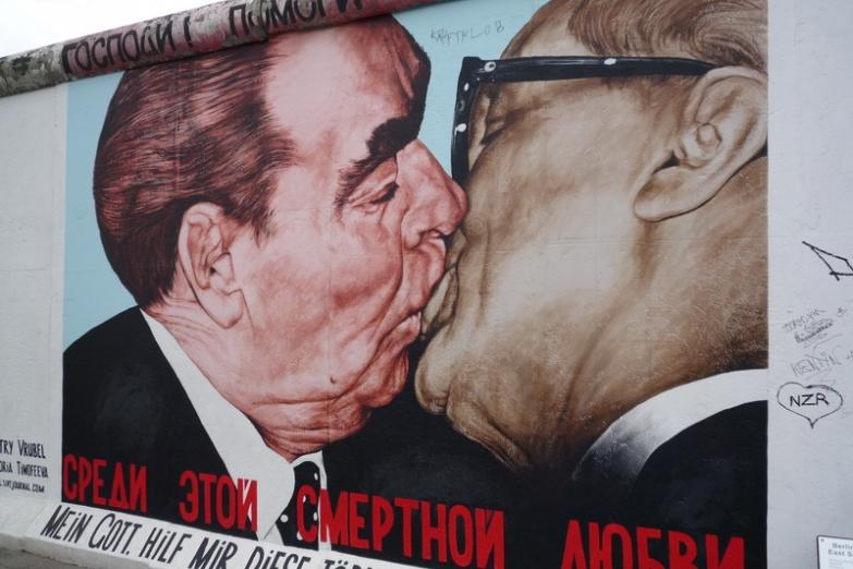 Картина на Берлинской стене