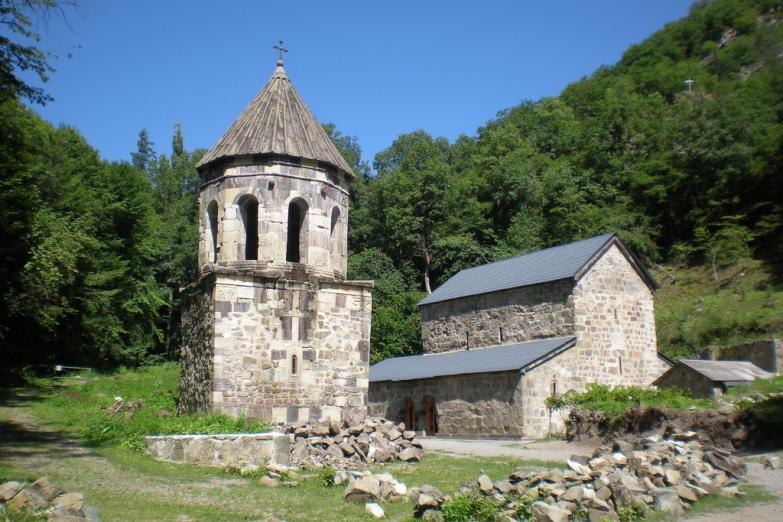 Монастырь в окрестностях Боржоми