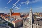 Панорама центра Мюнхена