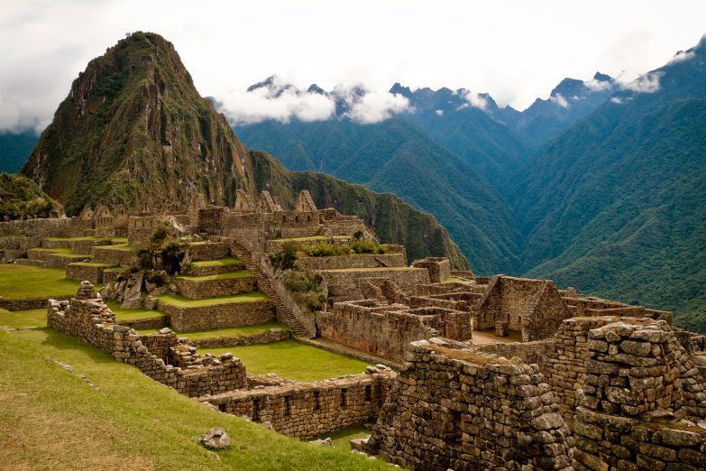 Город Мачу Пикчу в Перу