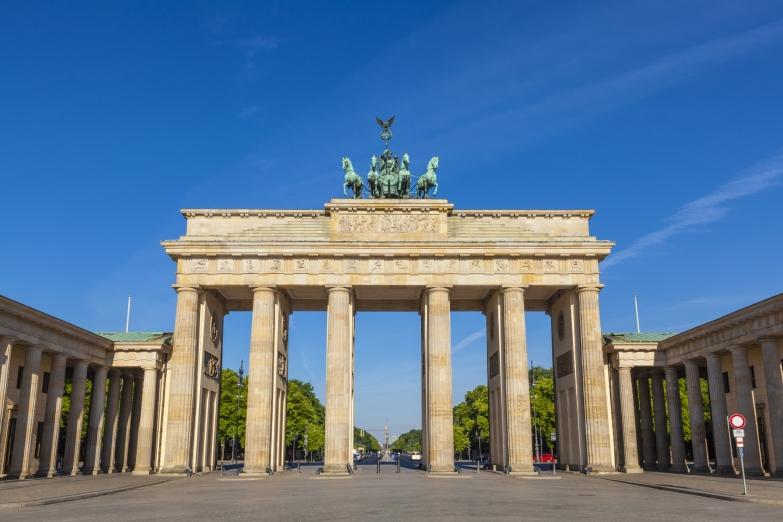 Бранденбургские ворота на Парижской площади