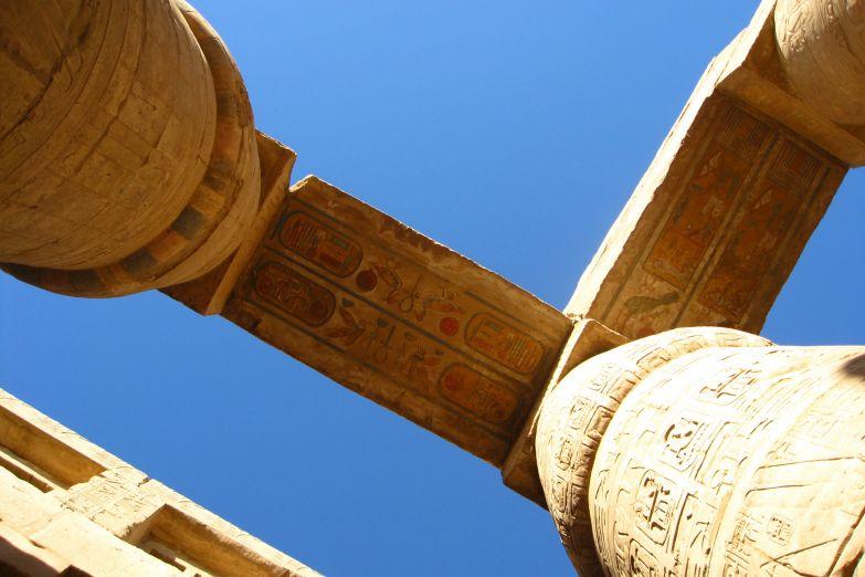 Колонны в Карнакском храме