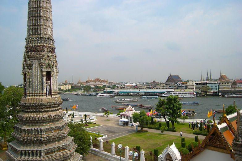 Панорама исторического центра Бангкока