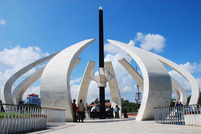 Монумент в Ченнаи