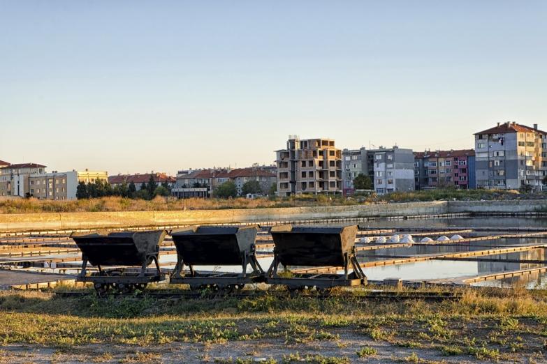 Соляные озера в Бургасе