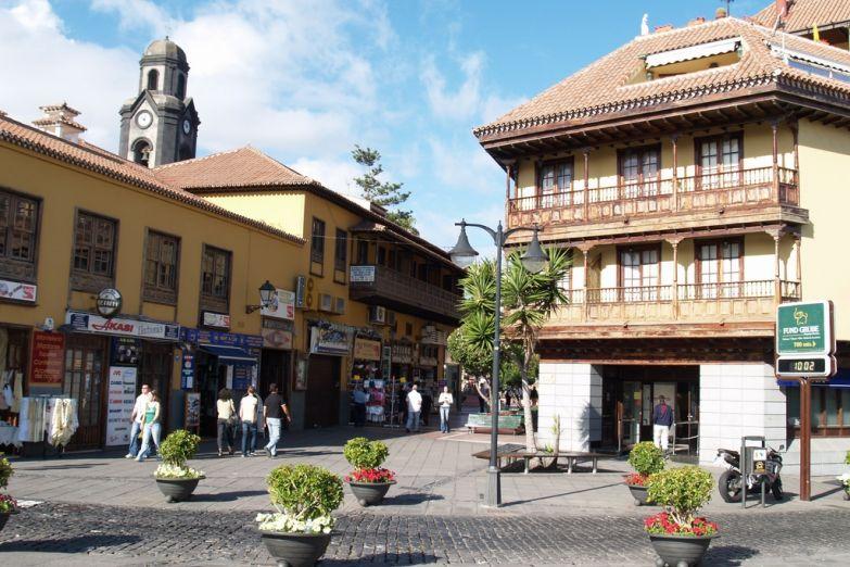 Город Пуэрто де ла Крус