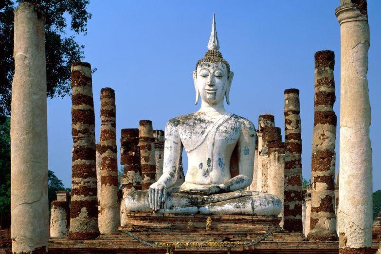 Статуя Будды в Сукхотае