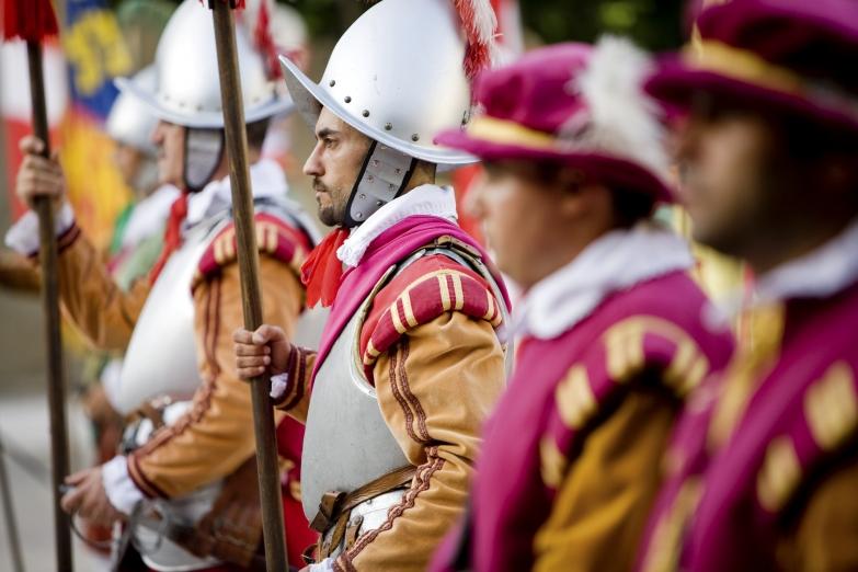 Костюмированный парад Ин Гвардия в Валлетте