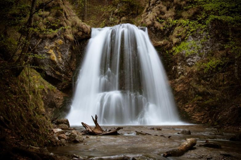Водопад в долине Йозефсталь