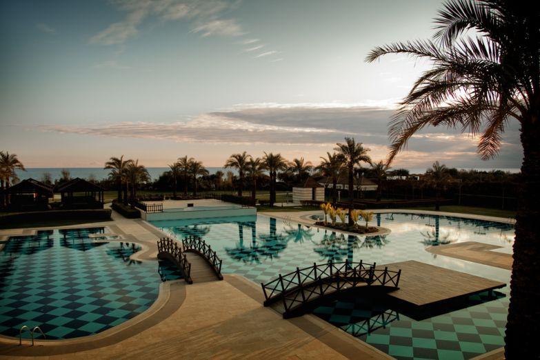 Отель на побережье Белека