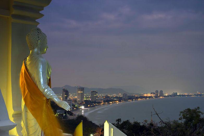 Панорама вечернего Хуа Хина