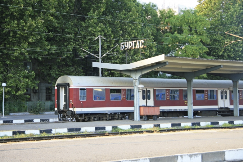 Жд вокзал в Бургасе